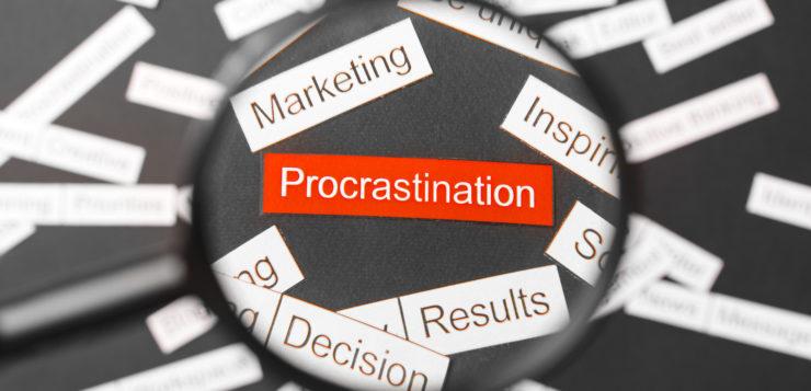 Cómo luchar contra la procrastinación